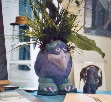 Drôle d'oseau (vase)